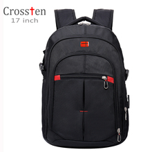 "Купить с кэшбэком Crossten versatile Swiss Military Army Travel Bags Laptop Backpack 15.6"" 17""  Multifunctional high volume Waterproof schoolbag"
