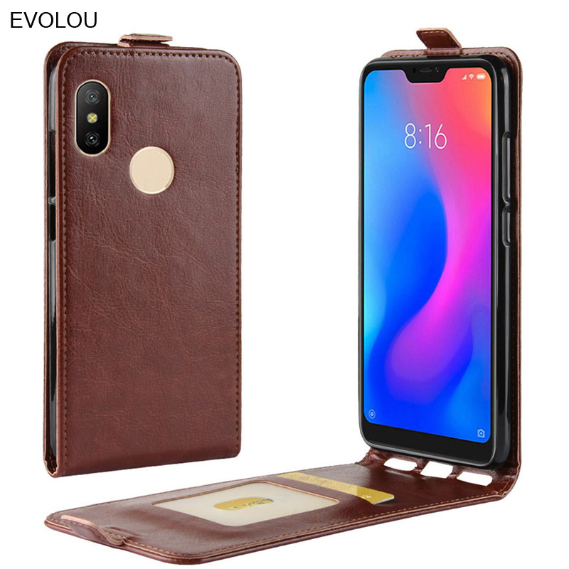 Retro Leather Cover <font><b>Xiaomi</b></font> Redmi Note 7 6 <font><b>8</b></font> Pro Note 5 Plus 5A 6A 4X Prime S2 <font><b>Case</b></font> <font><b>Vertical</b></font> flip Cover <font><b>Xiaomi</b></font> <font><b>Mi</b></font> 9 <font><b>8</b></font> T Play F1 image