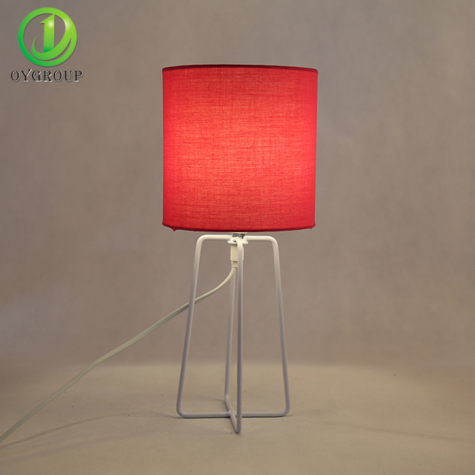modern fashion mini table lamps lantern for living room four floor lights iron base lighting