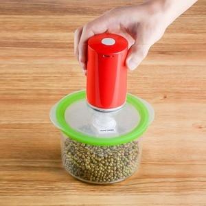 Image 3 - REELANX портативный вакуумный упаковщик машина с 5 или 10 вакуумными мешками на молнии портативный мини вакуумный насос для Sous Vide Precision Cooker