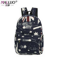 Fashion Men Male Canvas Backpack College Student School Backpack Bags For Teenagers Casual Rucksack Travel
