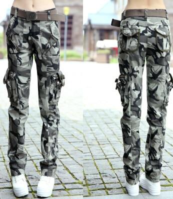 Ropa para mujeres de camuflaje Cargo pantalones flojos Girls pantalones  traje de baile fatiga hombres del 6dd123ccd68