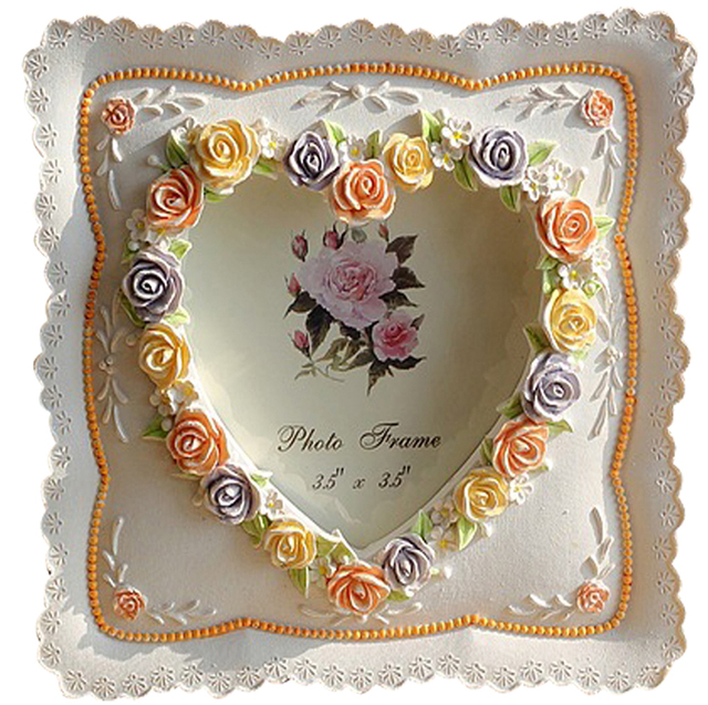 frames vendor colorful rose picture frame for best friend gifts