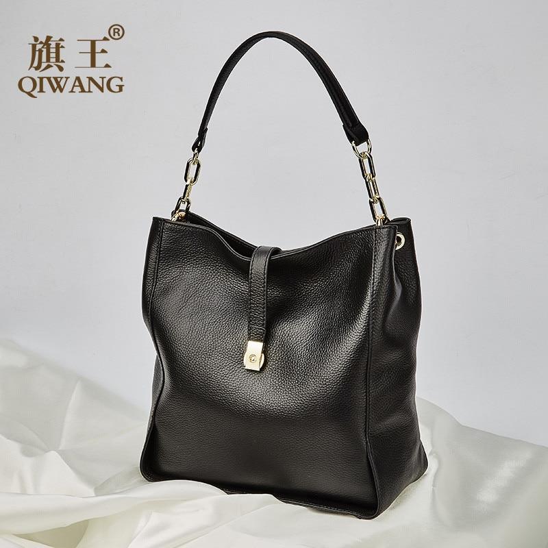 For Ladies//Women Black Genuine Leather Handbags Top Handle Bags