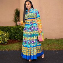 African-Dresses Robe Dashiki Women for Clothing Long