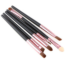 6PCS Cosmetic Lip Eyeshadow pincel maquiagem makeup brushes make up brush  D6610