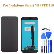 Pour Vodafone Smart VFD710 LCD Smart V8 LCDtouch écran convertisseur numérique pour Vodafone vfd710 pièces de réparation de téléphone mobile