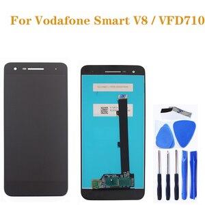 Image 1 - Pour Vodafone Smart VFD710 LCD Smart V8 LCDtouch écran convertisseur numérique pour Vodafone vfd710 pièces de réparation de téléphone mobile