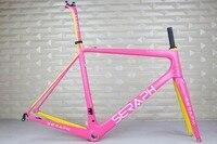 SERAPH велосипед FM686 мин 790 новый супер легкий карбоновый дорожный велосипед рама, Сверхлегкий мотоциклетный каркас, карбоновые велосипедные