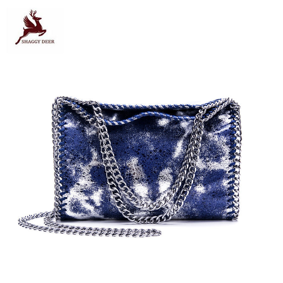 Exclusive SHAGGY DEER Colorful Burst Serial  Luxury PVC 3 Chain Crossbody Shoulder Portable Handbag Fold Over Falabellas Tote mini gray shaggy deer pvc quilted chain bag with cover real picture