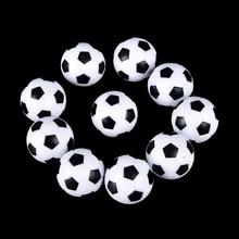 10 шт. 32 мм пластиковый настольный футбольный мяч, футбольный мяч, спортивные подарки, круглые домашние игры
