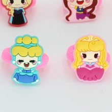 10pcs princess Cartoon Pink Pig Elastic Hair Bands Cute Girls Ponytail Holder Rope Headbands Children Hair Accessories Ornament(China)