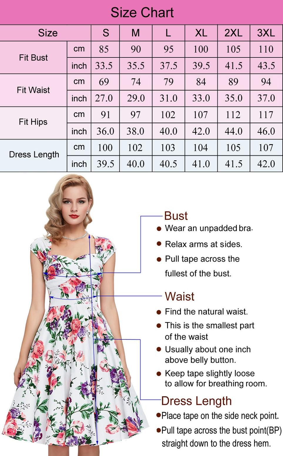 Women Plus Size Pencil Dresses Rockabilly Clothing 2018 Floral Summer Casual Party Office Dress Sexy 50s Vintage Bodycon Dress 3