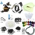 Entry tattoo kit beginners Rotary tattoo machine gun kit complete tattoo kit tattoo power supply needle inks