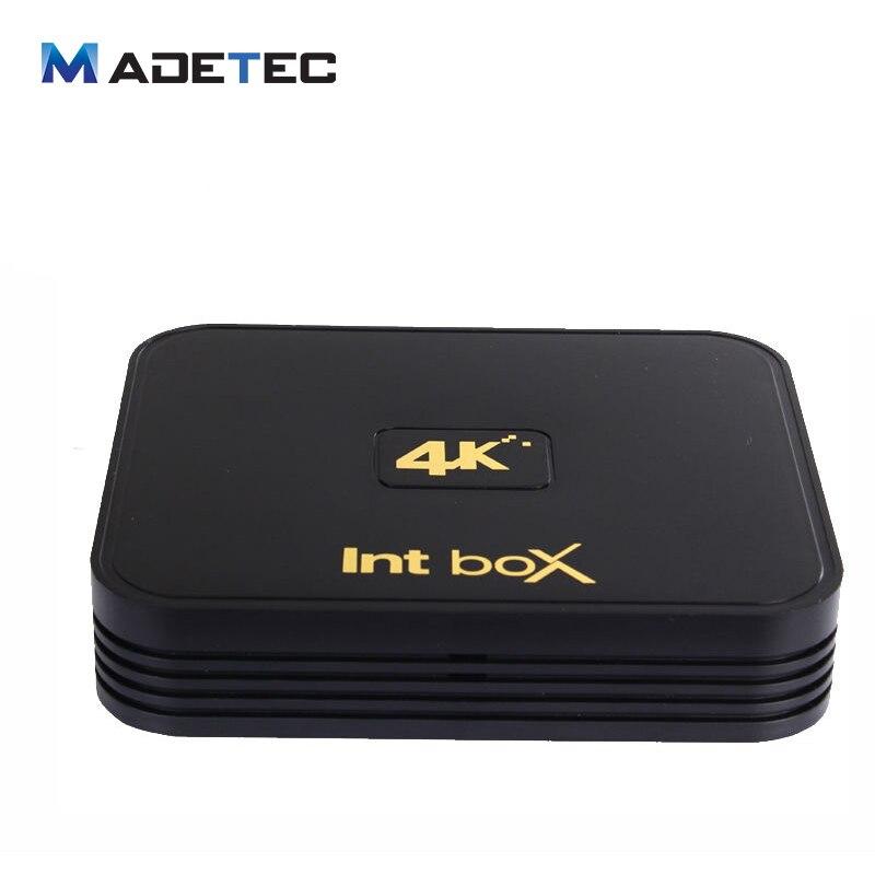 ФОТО Int Box Set-top Boxes I7  Amlogic S912 Octa Core Android 6.0 TV Box 2GB/8GB 2.4G/5GHz Dual WIFI BT4.0 4K Media Player VB115