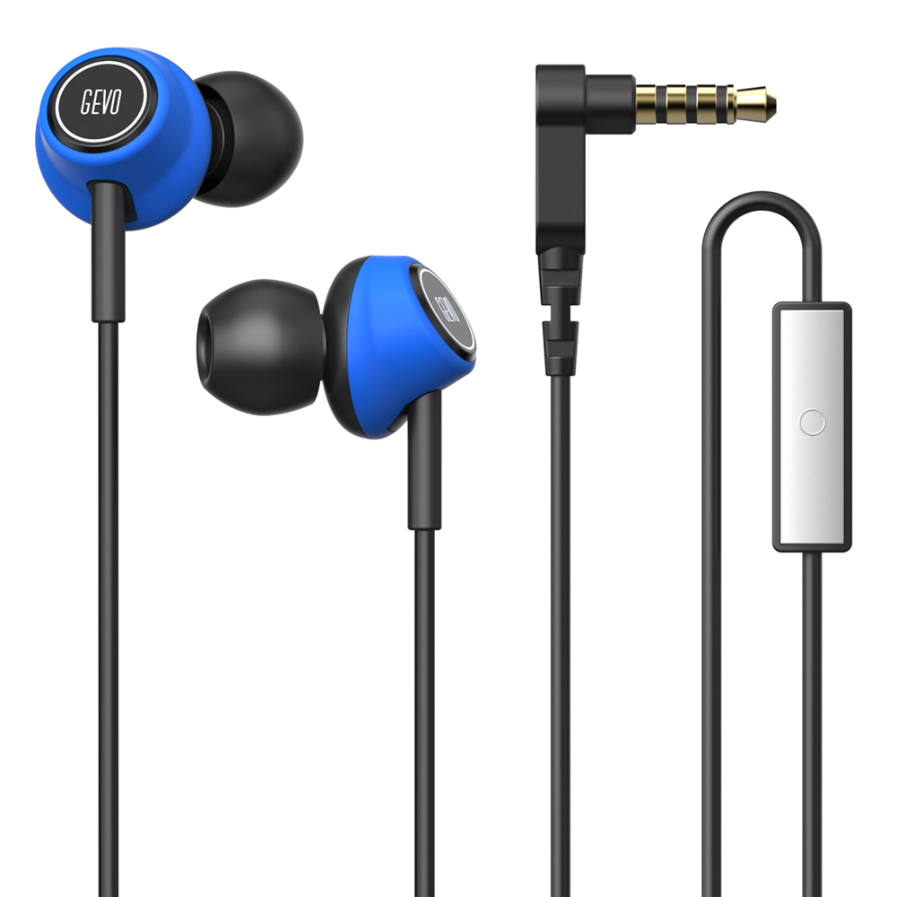 Gevo GV6 Gaming Headset In-ear Bass Wired Earphone Noise Cancelling Sport Run Headphone Stereo with Microphone Fone De Ouvido