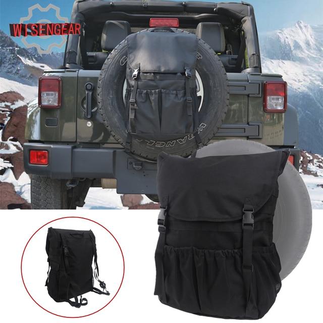 for Jeep Wrangler Storage Bag Car Rear Spare Tire Bag Pocket Saddlebag Cargo Organizer Bag For & for Jeep Wrangler Storage Bag Car Rear Spare Tire Bag Pocket ...