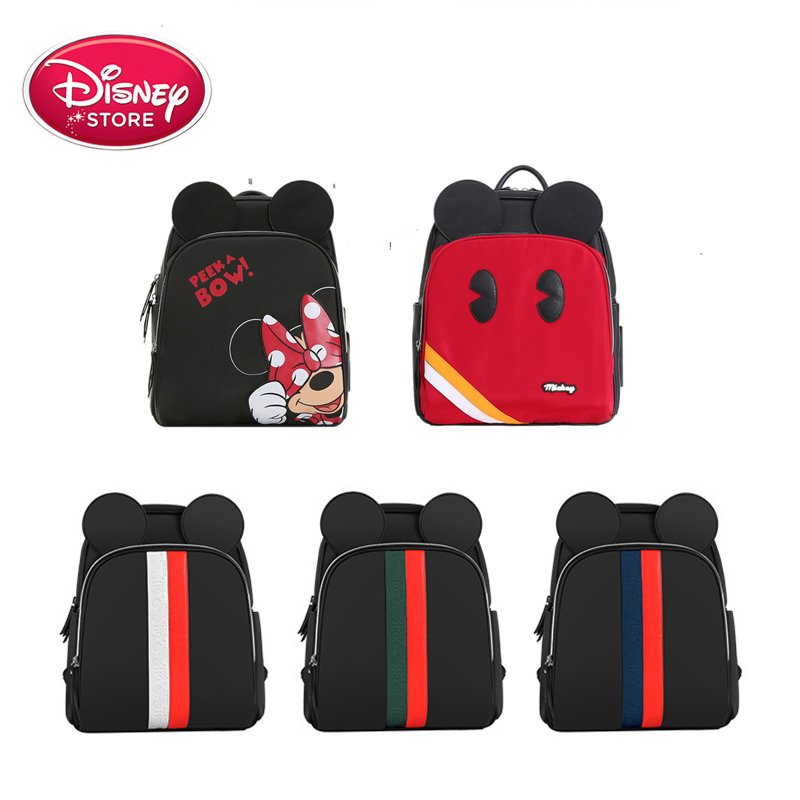 Disney Mummy Maternity Nappy Diaper Bag Large Baby Bag Bolsa Maternidade Designer Nursing Bag For Baby Care Waterproof Fox Cute