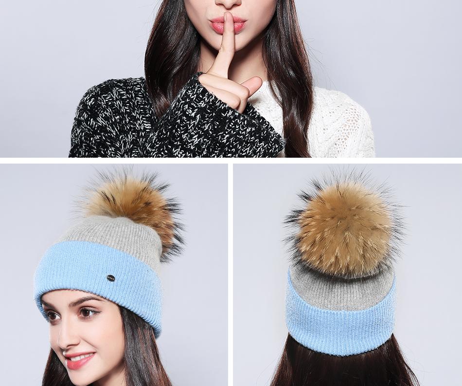Winter Hat For Women MZ744 (18)