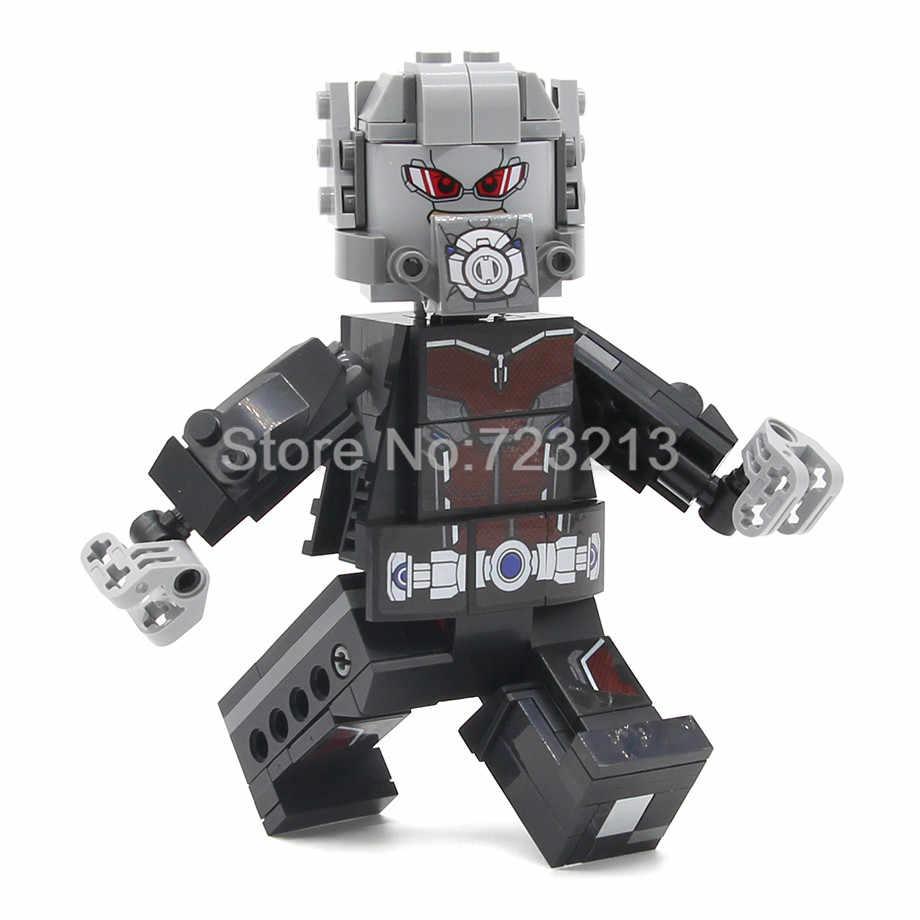 Pojedynczy zestaw figurek Ant-Man Rhino Stepenwolf Ares Antman zestawy klocków budowlanych modele zestawy klocków zabawki
