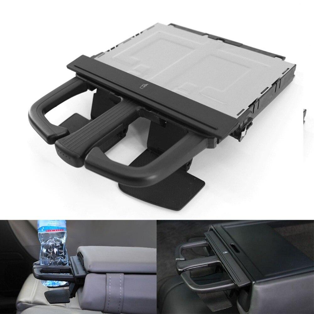 Front Dash Car Cup Holder Sliding For Jetta Bora Golf MK4 MKV Audi A3 S3 A4 A6 Q5 Car Storage Tools Black Universal