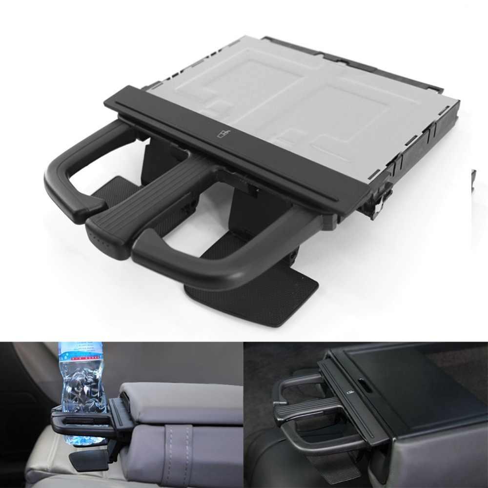 Ön Dash Araba Bardak Tutucu için Sürgülü Jetta Bora Golf MK4 MKV Audi A3 S3 A4 A6 Q5 Araba Depolama araçları Siyah Evrensel