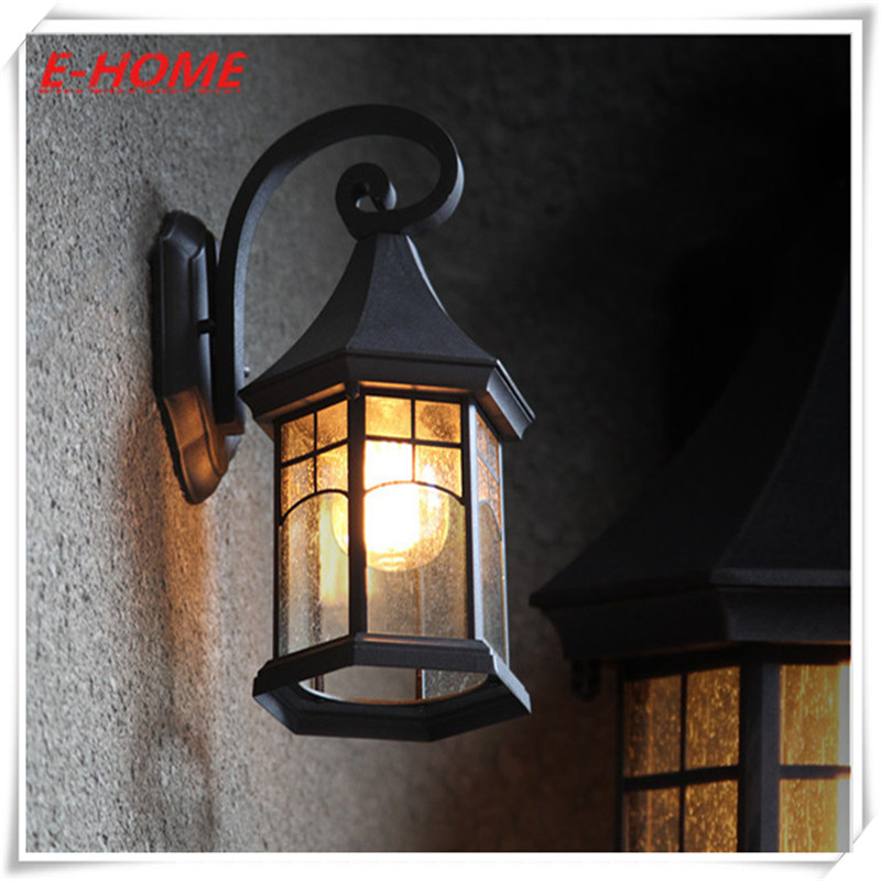 Iron Retro Continental Waterproof Lamp Outdoor Lighting, Garden Lights Creative American Balcony Stairs Facades Wall зимняя шина continental contivikingcontact 6 225 55 r17 101t