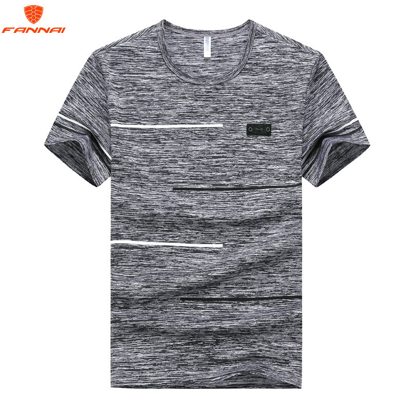 Large size M-7XL 8XL 9XL t-shirt  Round neck Men's T Shirt Men Fashion Tshirts Fitness Casual For Male T-shirt  Free Shipping