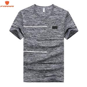 Large size M-7XL 8XL 9XL t-shirt Round neck Men's T Shirt Men Fashion Tshirts Fitness Casual For Male T-shirt Free Shipping(China)
