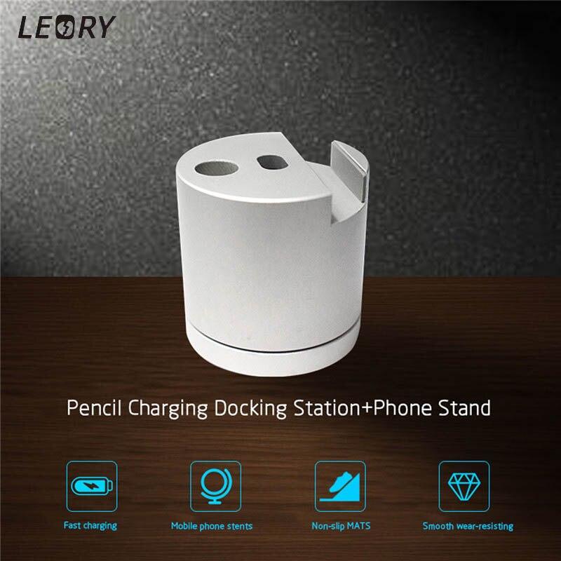 Aluminum Desktop Charger Charging Base Dock Station Stand Holder Mobile Phone Holder For Apple