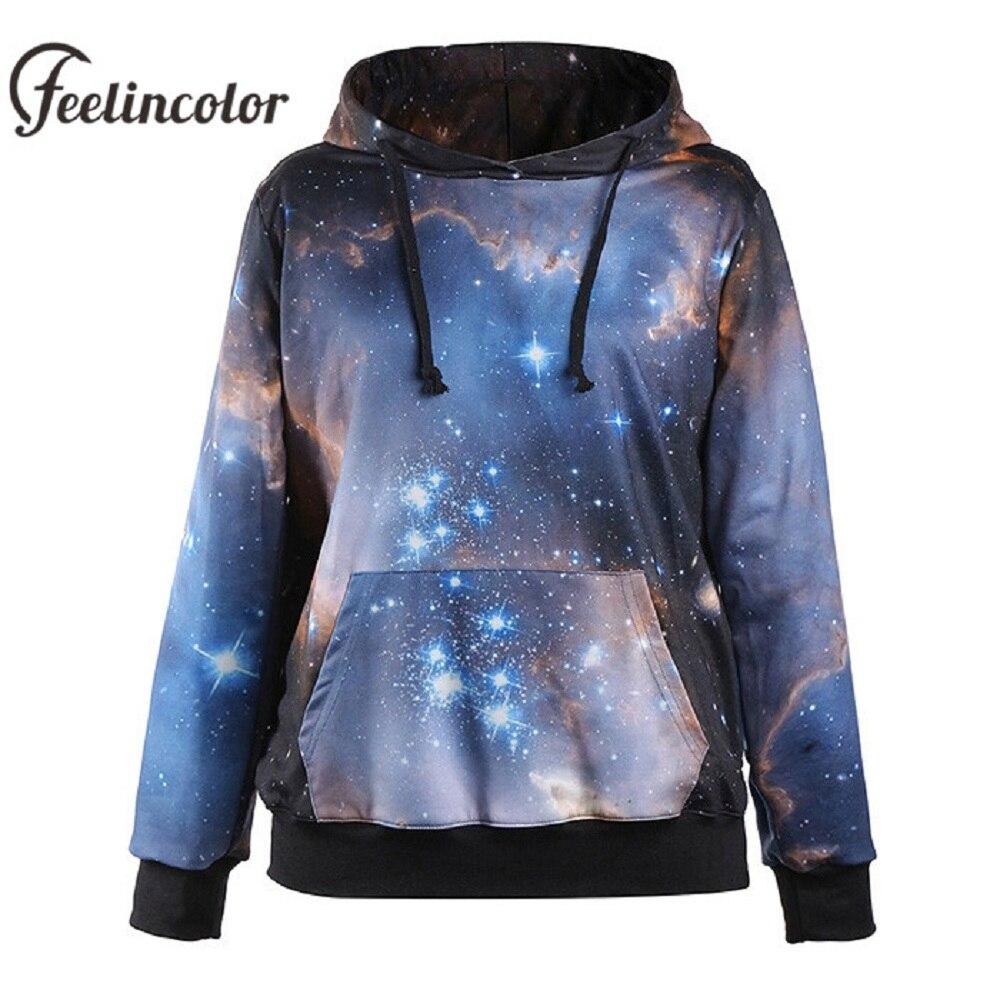 Feelincolor New 3d Galaxy Sweatshirt Men/Women Autumn ...