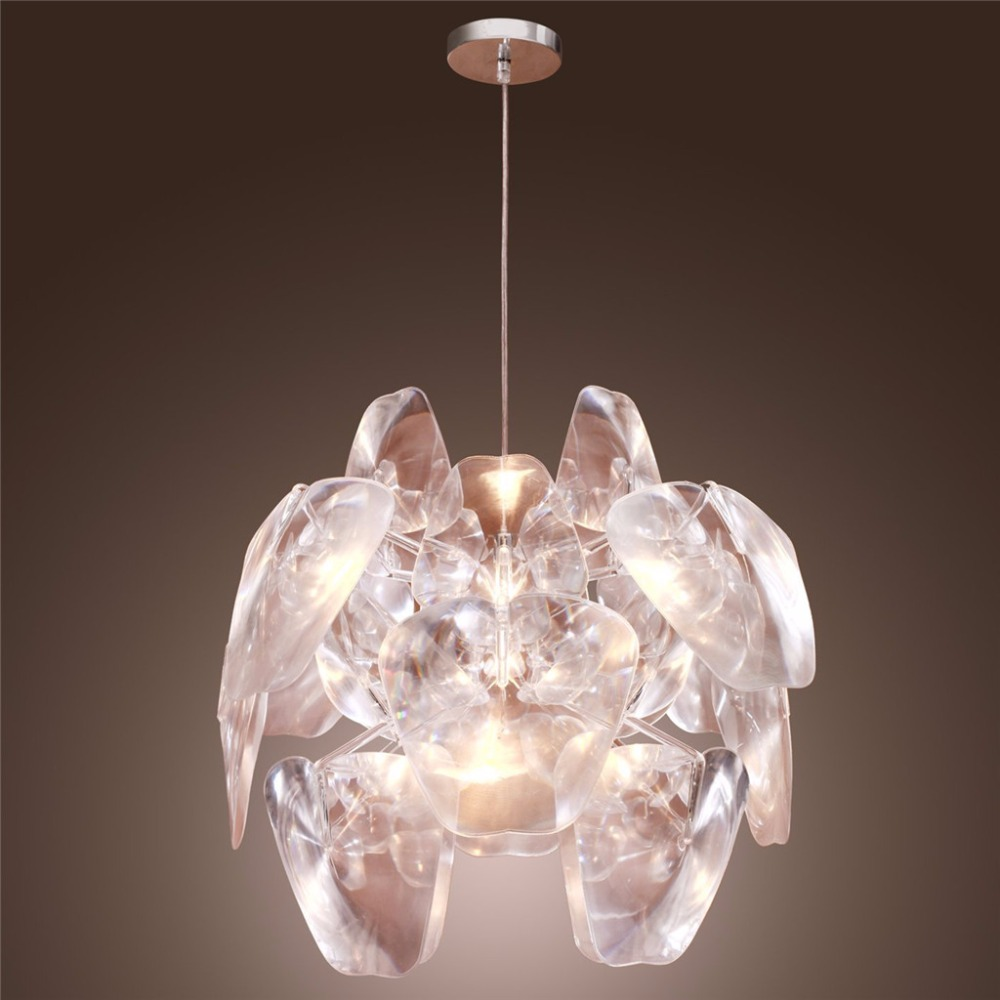 Decorative Lighting Fixtures. Floureon Modern Pendant Light Transparent Creative Home Fixture  Lamp Decorative for Bedroom in Lights from