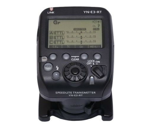 Yongnuo YN-E3-RT flash Speedlite Wireless Transmitter for Canon 600EX-RT AS ST-E3-RT compatible with YN600EX-RT II 3pcs yongnuo yn600ex rt auto ttl hss flash speedlite yn e3 rt controller for canon 5d3 5d2 7d mark ii 6d 70d 60d