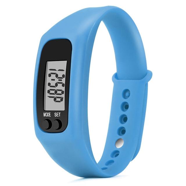 2019 Men Women Sports Running Step Counter Walking Distance Calorie Counter Pedometer Digital LCD Fitness Watch Bracelet Watches