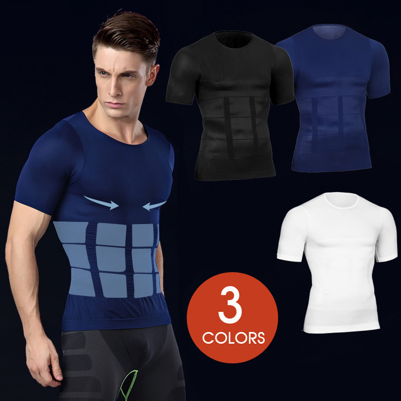 Men Fitness Slimming Vest - Fat Burning, for Weight Loss & Body Shaping 1