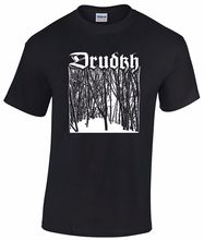 DRUDKH Birch T Shirt Absurd Nokturnal Mortum Mgla Wolves In Throne Room Agalloch O-Neck Sunlight Men T-Shirt Top Tee