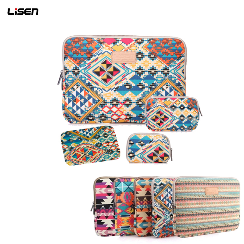 Fashion Laptop Liner Sleeve with Power Pouch Notebook Case for Apple iPad HP Macbook Air Pro Retina for Xiaomi 11 12 13.3 15