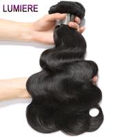 Lumiere Hair Brazilian Body Wave Hair 10 28 Inch Remy Hair 100 Human Hair Weave Bundles