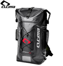 CUCYMA Motorcycle Bag PVC 100% Waterproof Hiking Backpack Helmet Moto Tank Tail Saddle Bags Rear Package