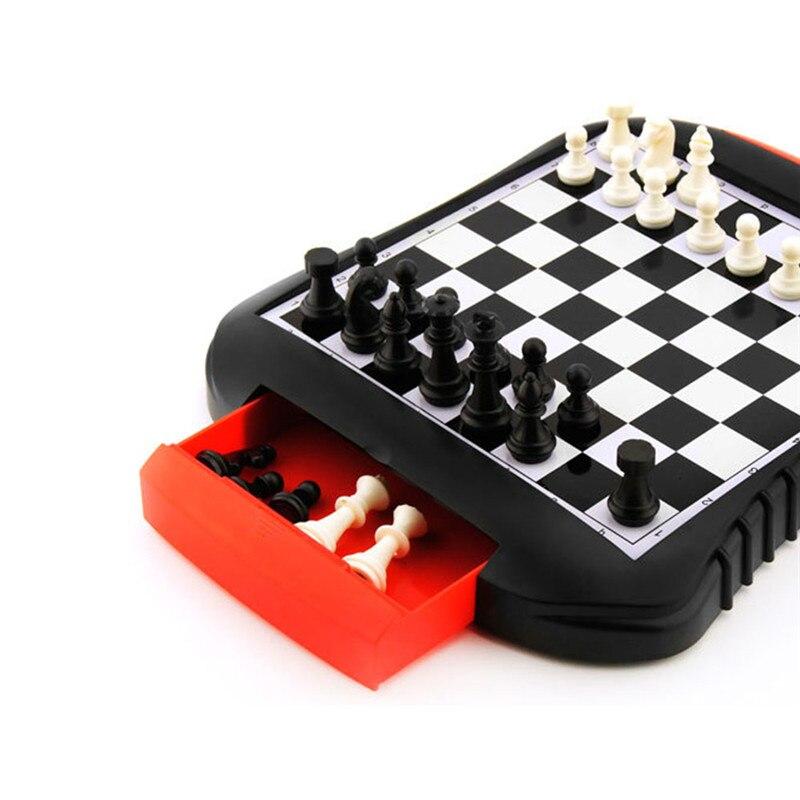 Kinderen Educatief Speelgoed Lade Stijl Magnetische Schaakspel Vliegen Schaken Bordspel Ouder-kind Activiteit Speelgoed Voor Kinderen's Fabrieken En Mijnen