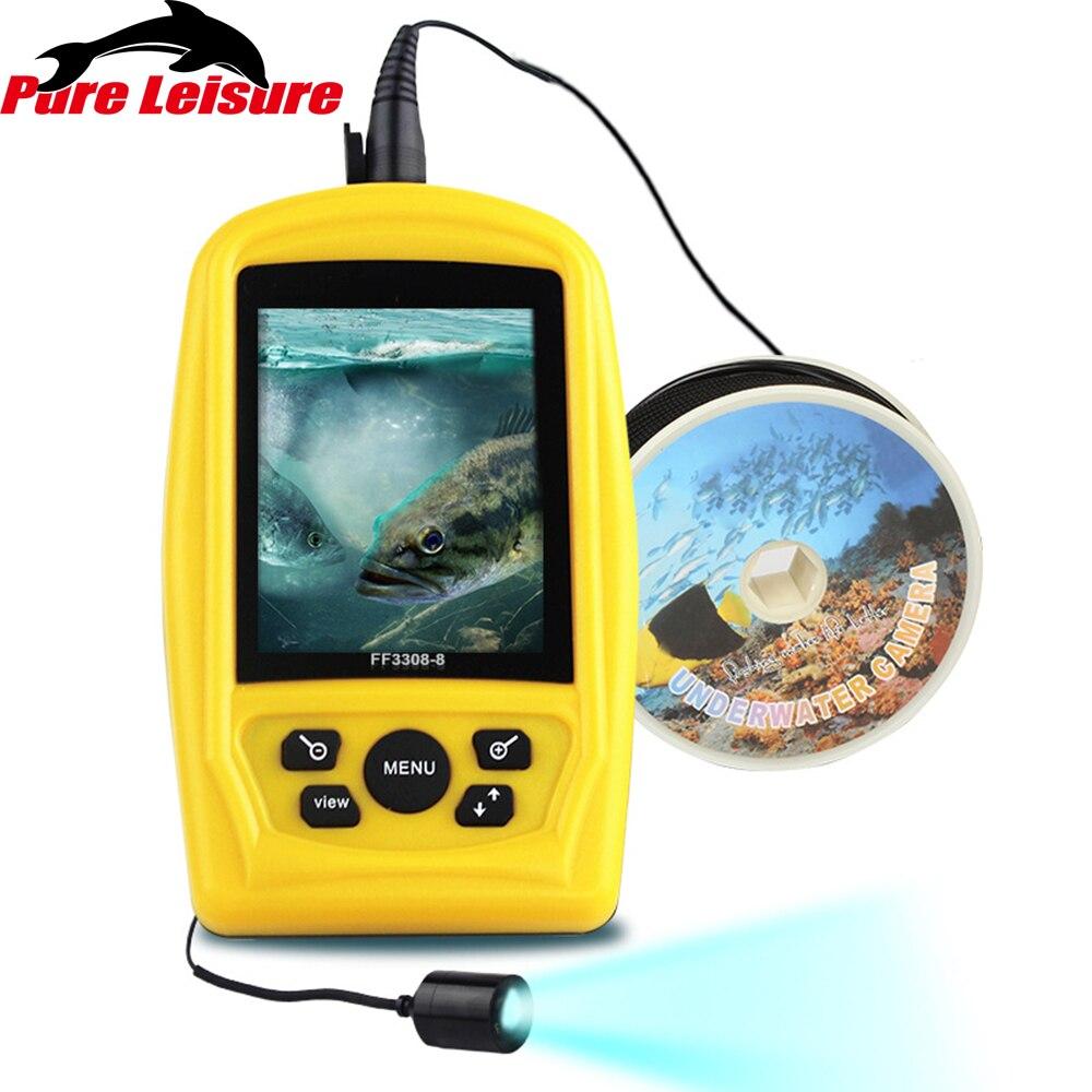 PureLeisure caméra Sous-Marine pêche Inspection étanche caméra pêche 20 M câble caméra Sous Marine pêche profondeur sondeur FF07
