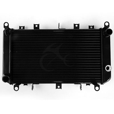 Motorcycle Replacement Aluminum Radiator Cooler for Kawasaki Z1000 2003-2006 2004 2005 03-06 04 05 ROW NEW black