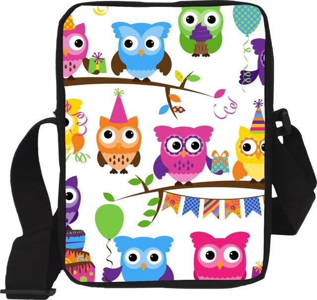 Original Designer Women's owl Messenger Bags Vintage Lady Girl Crossbody Bags Small Shoulder Bags Handbag for Children Retail