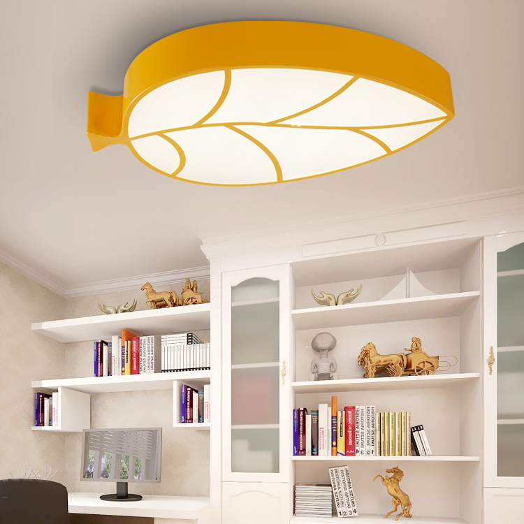 Children lamp creative cartoon amusement park childrens clothing shop childrens room ceiling lights leaves kindergarten in ceiling lights from lights