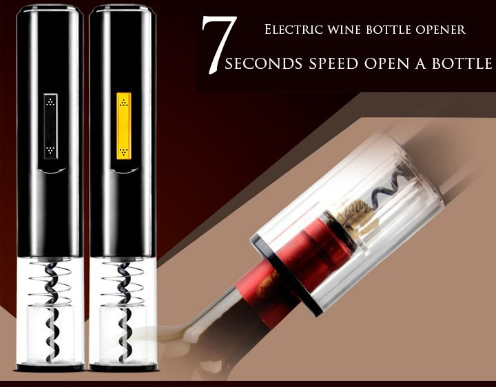 free shipping Automatic Wine Opener/Automatic Wine Bottle Opener/Electric Corkscrew/wine Electric Bottle Opener/Wine Opener