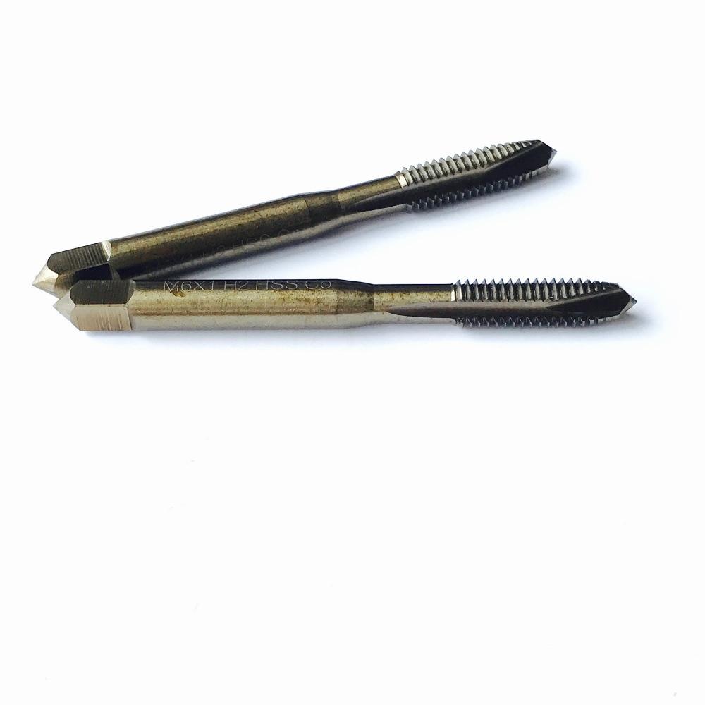 Tasuta saatmine 2PCS M2-M5mm HSS M35 Co5% CNC-ga lihvitud spiraalse - Käsitööriistad - Foto 6