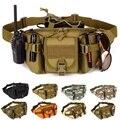 Militar de alta calidad de Los Hombres Bolsas Bolso Impermeable de La Cintura Paquete de La Cintura Multifuncional Subir Bum bolsa de Equipo Militar viajes XD3611