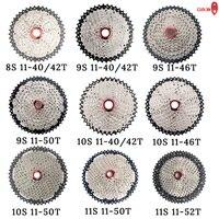 MTB Bicycle freewheel 8 9 10 11 Speed 40 42 46 50T Flywheel For Shinamo XT SLX Sram Mountain Bike Cycling Cassette Accessories