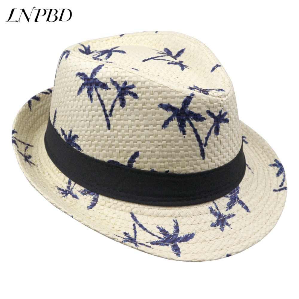 bbeef9e1a69 2018 hot sale Summer straw Sun hat kids Beach Sun hat Trilby panama Hat  handwork for