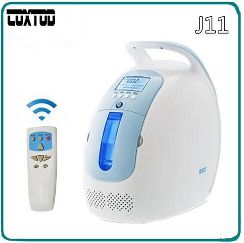 COXTOD 1-5LPM Mini portable oxygen concentrator generator O2 making machine with car adaptor dual flow medical healthcare oxygen concentrator 5l with nebulizer copd oxygen generator ce approved o2 making machine